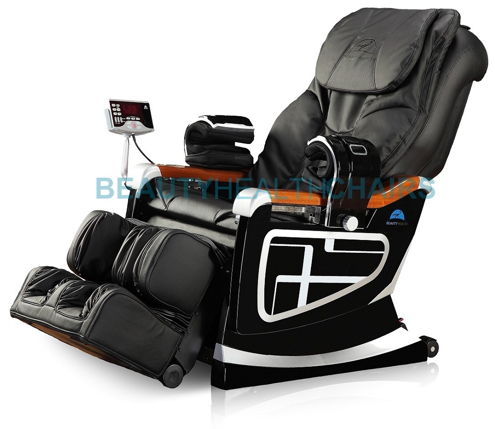 NEW BEAUTYHEALTH BC 11D RECLINER SHIATSU MASSAGE CHAIR 92 AIRBAGS BUILT IN HE